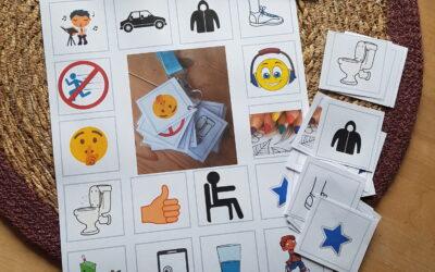 Ferietid – visuel støtte pictogrammer til dit barn med særlige behov.